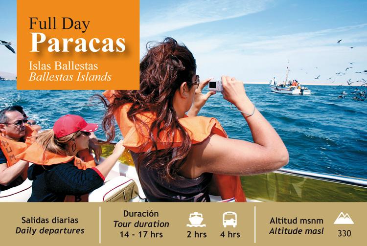 Full Day Paracas