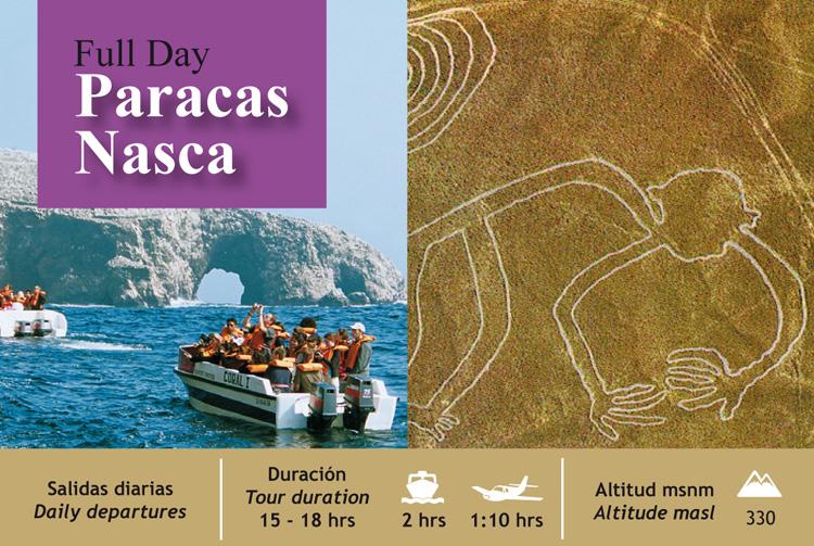 Full Day Paracas - Nasca